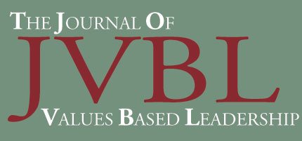 Journal of Values Based Leadership